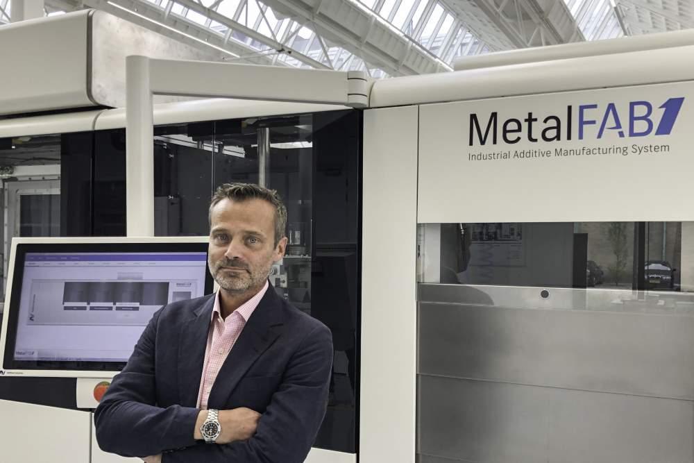 Photo of Lars Ryberg versterkt salesteam Adidtive Industries