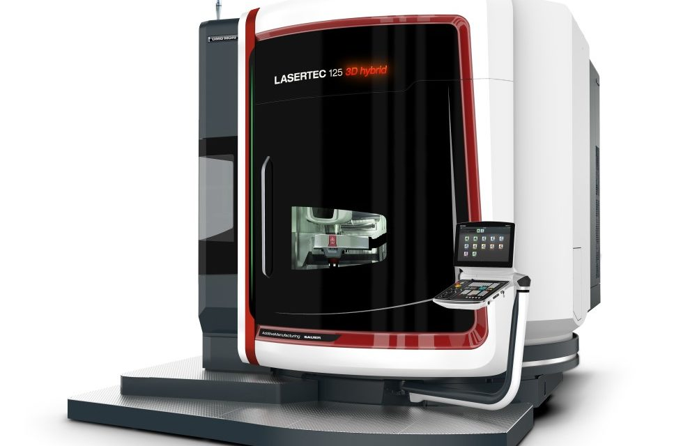 DMG Mori : première grote Lasertec 125 3D hybrid