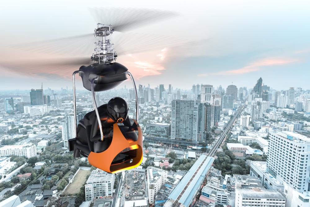 Photo of AM brengt Talaria dichterbij doel: éénpersoons elektrische helikopter