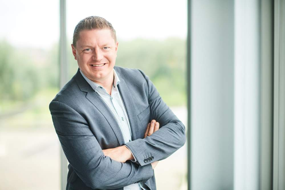 Photo of Koen Van Beneden Managing Director HP Inc. Belux