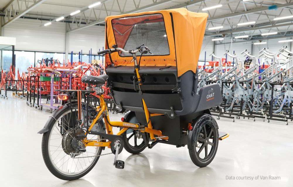 Van Raam 3D print eindonderdelen voor aangepaste fietsen