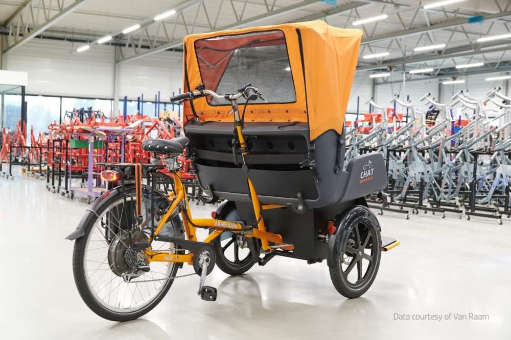 Photo of Van Raam 3D print eindonderdelen voor aangepaste fietsen