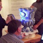 Artec 3D scantechnologie brengt Delfts blauw opnieuw tot leven