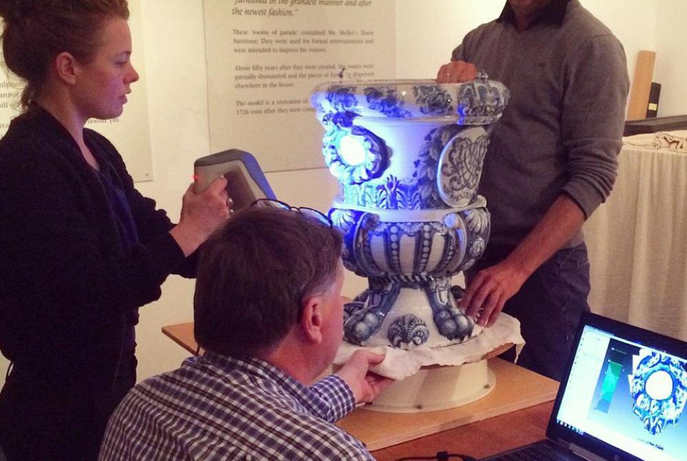 Photo of Artec 3D scantechnologie brengt Delfts blauw opnieuw tot leven