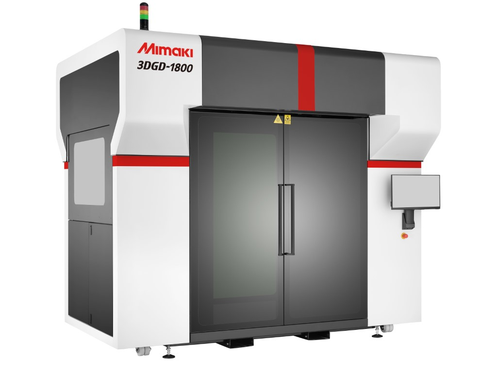 Photo of Mimaki 3DGD-1800: Gel Dispensing printer voor grote displays