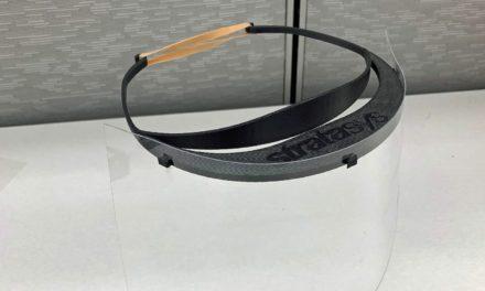 Stratasys gaat 5000 gezichtsbeschermers 3D printen