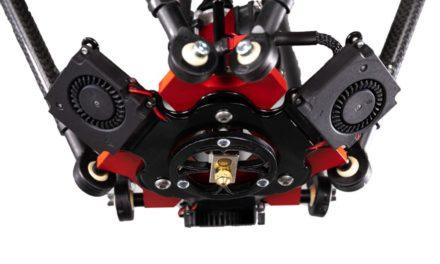 Nieuwe Tractus3D T2000: groot volume en snelste printkop
