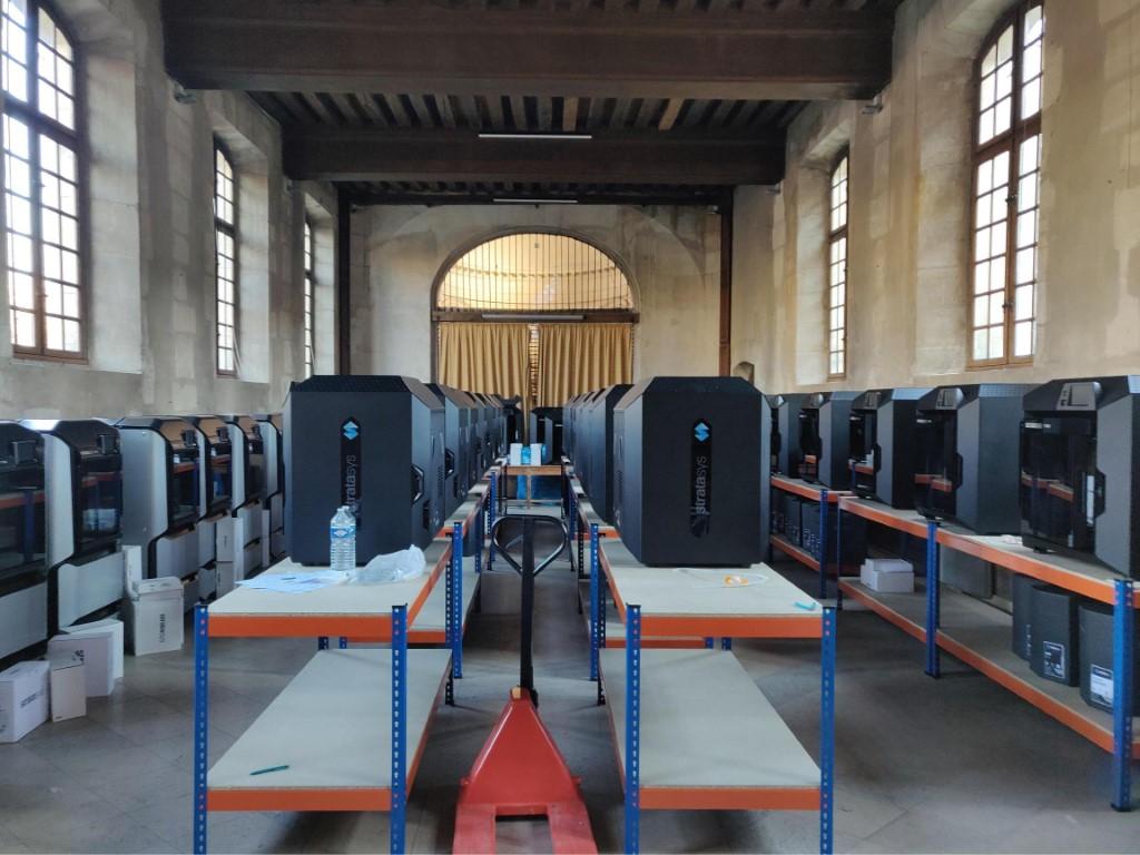 Photo of Universiteitsziekenhuis Parijs neemt 60 Stratasys F 123 printers in gebruik