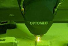 Photo of Optomec 3D print aluminium met DED-technologie