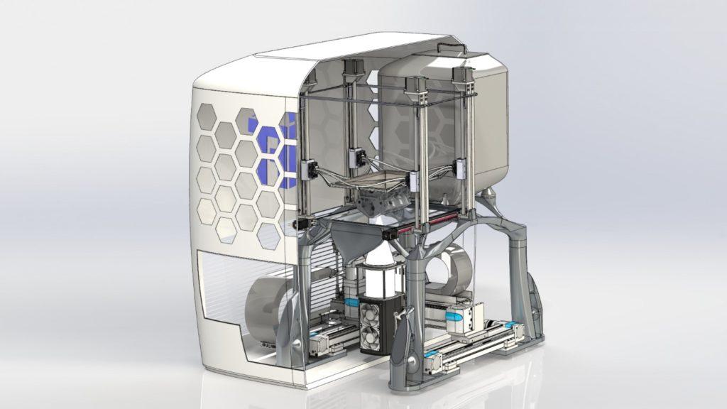 SLEDM 3d printer