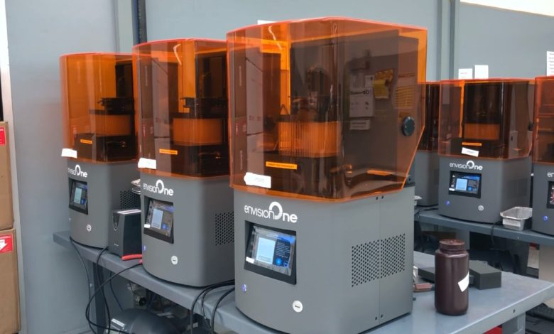 Photo of EnvisionTEC 3D print 5 miljoen swabs in vijf weken