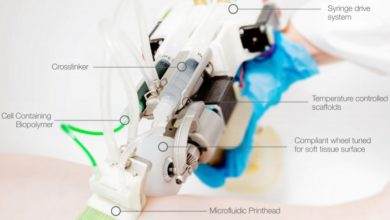 Photo of ReverTome handheld bioprinter winnaar 3D Pioneers Challenge
