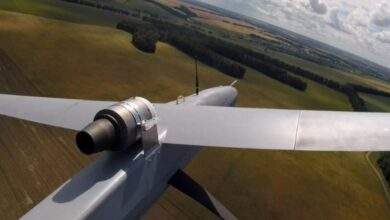 Photo of Succesfull test flight with 3D printed gas turbine engine