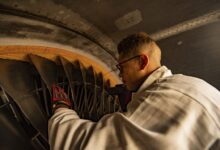 Photo of US Air Force starts refurbishing Titanium turbine parts with AM