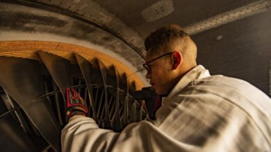 Photo of US Air Force starts refurbishing Titanium turbine parts with AM