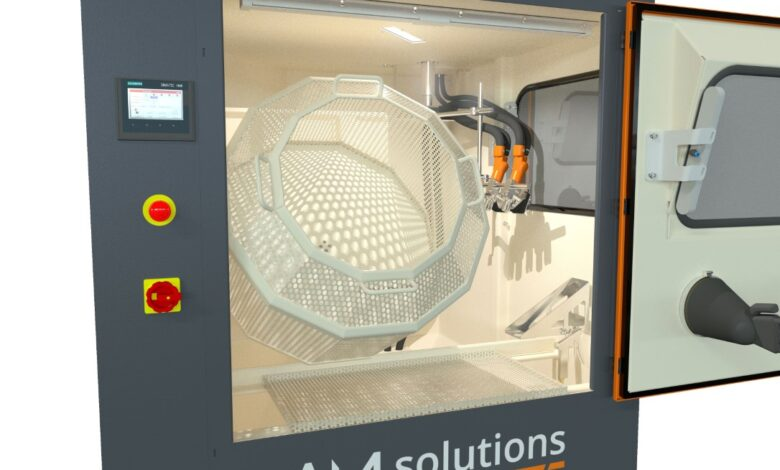 Photo of AM Solutions S1: verbeterde installatie voor poeder verwijderen