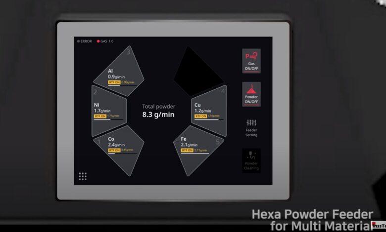 Photo of InssTek MX-Fab1: 3D printer voor productie van multimetaal componenten