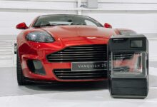 Photo of Re-make van Aston Martin Vanquish krijgt 3D geprinte onderdelen