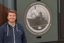 Photo of Marine test in Noorwegen mobiel reparatiecentrum met 3D printers