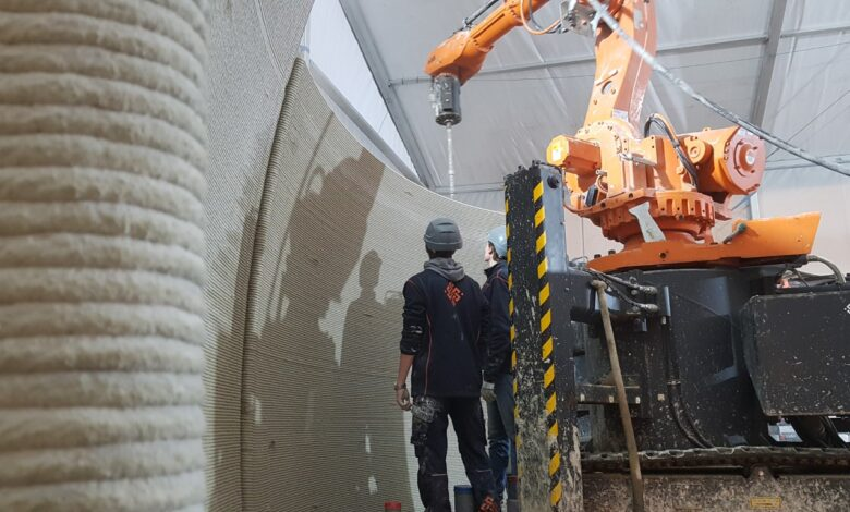 Photo of CO2-reductie troef van 3D betonprinten