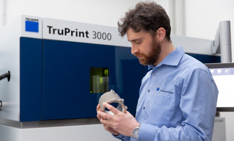 Photo of Trumpf verdubbelt productiviteit TruPrint 3000