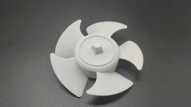 Photo of Farsoon 3D print PA 613 van Evonik met smelttemperatuur van 215° C