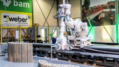 Photo of Weber Beamix krijgt 3D betonprintfabriek Eindhoven in handen