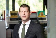 Photo of Arjen Evertse nieuwe General Sales Manager EMEA bij Mimaki