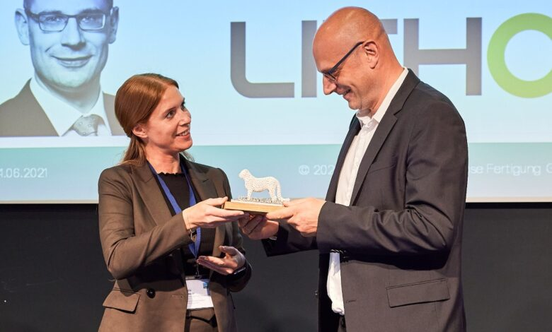 Photo of Mede-oprichter Lithoz wint Big Five award
