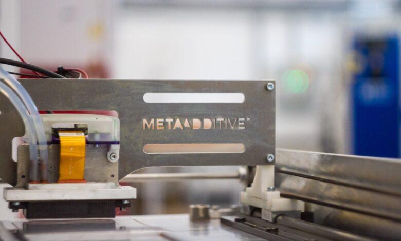 Photo of Meta Additive maakt met Xaar printkop uniek binder jetting concept concreet