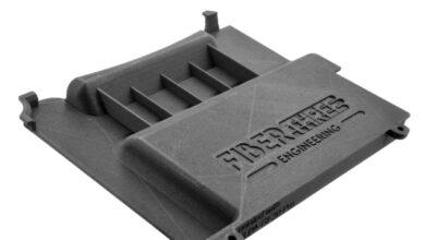 Photo of Fiberthree PA-GF30 Pro rondt polyamide portfolio af