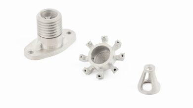Photo of Desktop Metal 3D print met desktop systeem titanium onderdelen