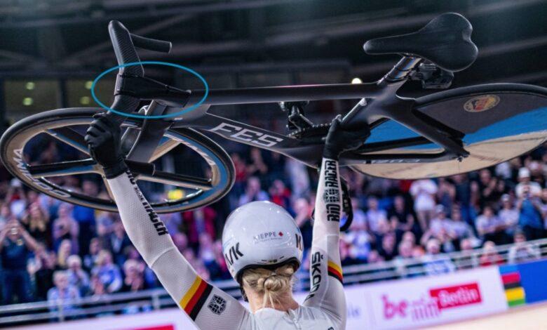 Photo of Zilveren Olympisch sprintteam op fiets met 3D geprinte stuurpen