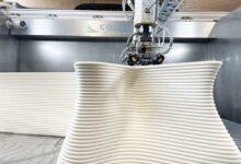 Photo of Colossus 3D print met Colorfabb foammateriaal met FGF printer
