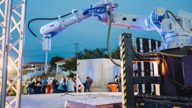 Photo of CyBe Construction 3D betonprint de eerste woningen op Curaçao